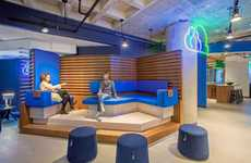 Community-Fostering Workspaces - Studio IQL's IntegriChain Office Encourages Creative Collaboration