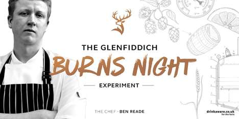 Theatrical Dinner Events - 'The Glenfiddich Burns Night Experiment' Challenges Traditions