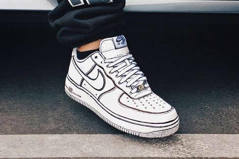 Comic Book-Inspired Sneakers