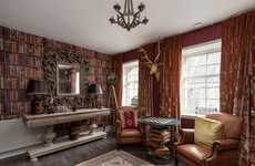High-End Wizard Apartments - The Canongate Luxury Apartment Features Harry Potter Furnishings