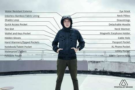 Water-Resistant Travel Jackets