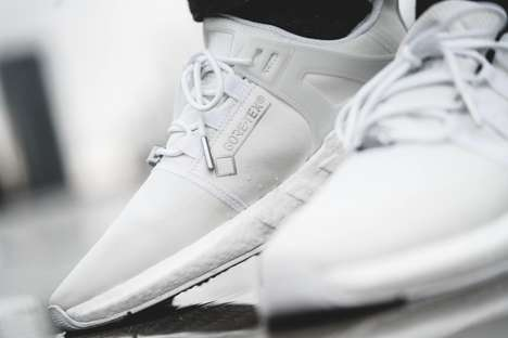 White Gore-Tex Constructed Sneakers
