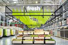 Industrial Department Store Hubs - Makro SA's Warehouse Space Marries Aesthetics with Function