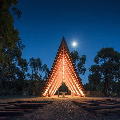 Angular Outdoor Chapels