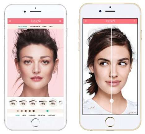 Eyebrow Try-On Apps
