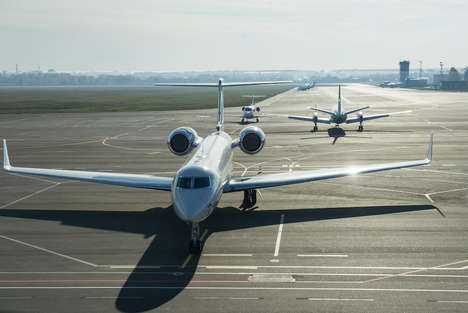 Private Jet Coworking Spaces