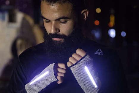 GPS-Integrated Running Gloves