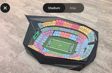 AR Football Stadium Seats - 2018 Super Bowl Seats Can Be Viewed Through StubHub's AR Stadium Model