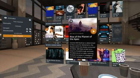 VR Media Platforms