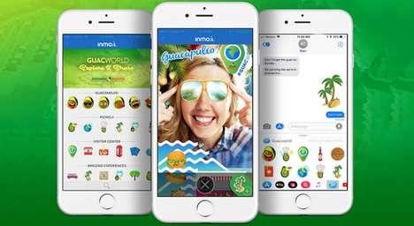 Avocado Selfie Emojis
