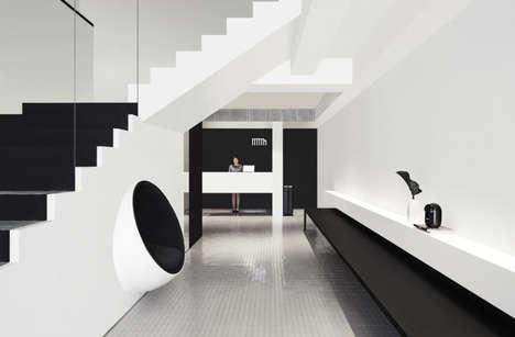 Monochromatic Modern Hotels
