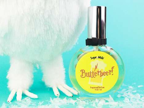 Wizardly Novelty Fragrances - Sugar Milk Co's Butterbeer Perfume is a Scent Inspired by Harry Potter