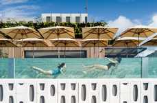 Luxurious Oasis Hotels - The New Emiliano Hotel in Rio De Janeiro Has a Luxurious Rooftop Pool
