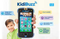 Break-Proof Kid Smartphones - Kidibuzz's Smartphone for Kids Was Designed for Those Younger Than 10