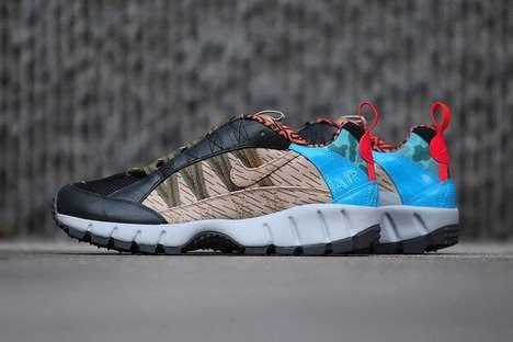 Bizarre-Colored Sneakers