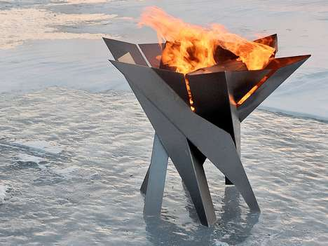 Nordic-Shaped Fire Pits
