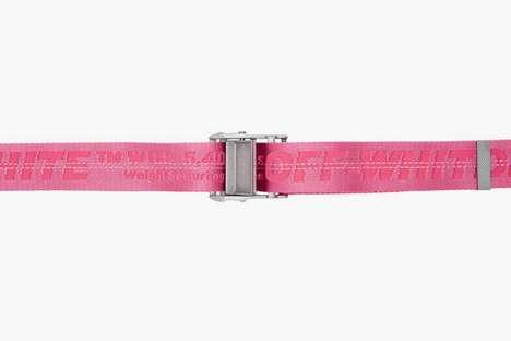Fuchsia Pink Industrial Belts