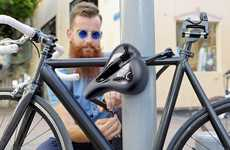 Multipurpose Bike Accessories - Seatylock Allows You to Lock Your Bike with Your Seat