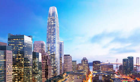 Blackwater-Recycling Skyscrapers - The Salesforce Tower Will Host a In-House Sewage Recycling System