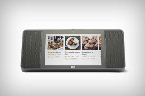 Voice Assistant Touchscreen Speakers