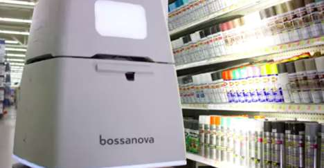 Shelf-Scanning Retail Robots - The Bossa Nova Robot Autonomously Keeps Tabs on Inventory