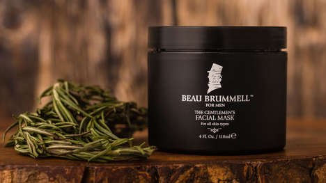 Masculine Botanical Face Masks