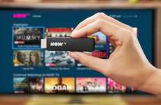 Telecom Streaming Devices - The Sky NOW TV Smart Stick Streams Content on a Budget