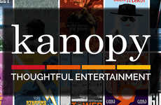 Public Library Streaming Services - The 'Kanopy' On-Demand Streaming Service is Available for Free