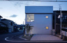 Cubic White Abodes - Shuhei Goto Architects' Project Stands Out from Neighboring Houses