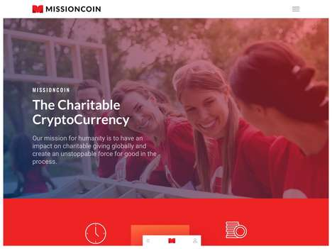Social Good-Focused Cryptocurrencies - 'MissionCoin' Rewards Charitable Acts to Encourage Community
