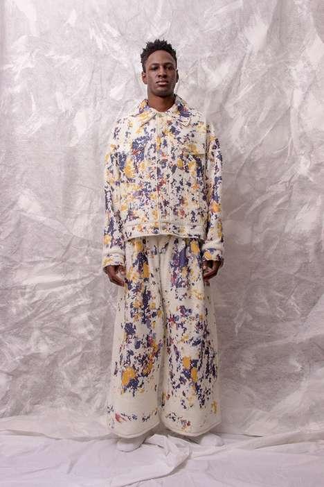Textile-Focused Menswear