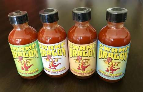 Alcohol-Based Hot Sauces