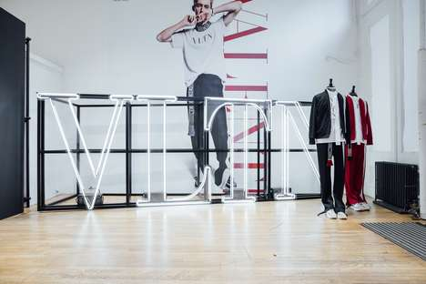 Luxury Sportswear Pop-Ups