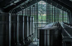 Fully Sustainable Wineries - The Silver Oak Winery Embraces Modern Design and Ecological Production