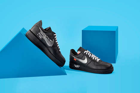Museum-Backed Shoe Designs - The MoMA Nike Air Force 1 Collaboration Has an Artistic Twist