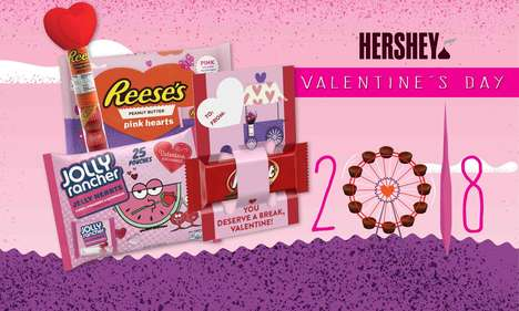 Romantic Chocolate Candy Collections
