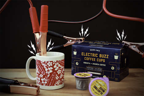 High-Caffeine Coffee Pods