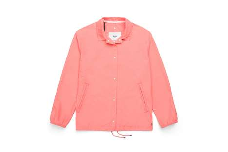 Pink-Hued Spring Jacket Collections