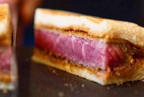 Luxurious Steak Sandwiches