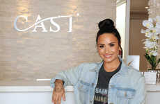 Celebrity-Provided Therapy Initiatives - Demi Lovato is Supporting Fans by Providing Therapy on Tour