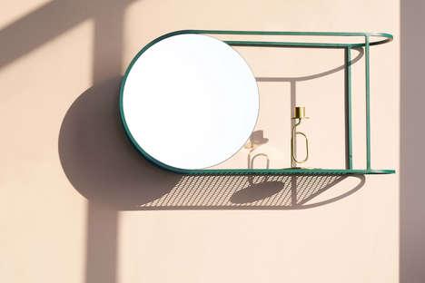 Dimensional Wall Mirrors