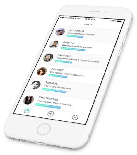 Stranger-Matching Debate Apps