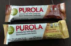 Mushroom Granola Bars - Purola Bars Combine Granola with Medicinal Mushrooms for Healthful Snacking