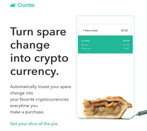 Micro Investment Cryptocurrency Platforms - Startup Crumbs Helps Small Sums Become Cryptocurrency