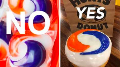 Laundry Capsule Donuts