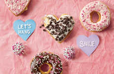 Romantic Donut Shop Menus - Dunkin' Donuts is Rolling Out a Valentine's Day Menu for 2018