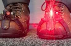 Symptom-Reducing Laser Shoes