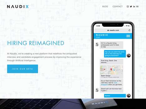 Candidate-Focused Hiring Chatbots - AI Hiring Startup Naudix Wants to Change the Current Structure