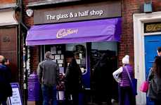 Bartering Sweet Shops - Cadbury's 'Glass and a Half' Pop-Up Accepts Knick-Knacks for Chocolate