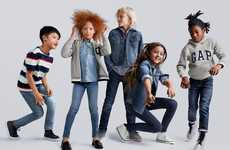 Play-Encouraging Kid's Jeans - Gap Revealed a New Line of SuperDenim for Children of all Sizes